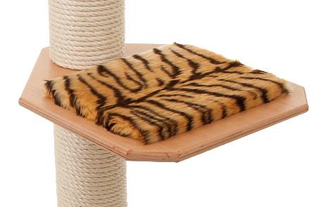 Holzfarbe: Buche - Auflage: Tiger