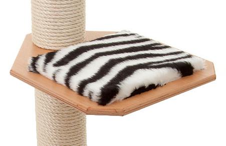 Holzfarbe: Buche - Auflage: Zebra