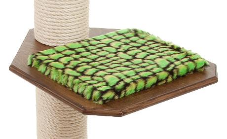 Holzfarbe: Dunkelnuss - Auflage: Alligator