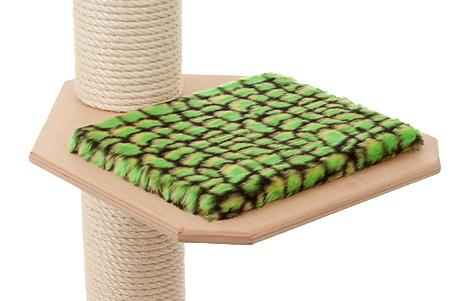 Holzfarbe: Natur - Auflage: Alligator