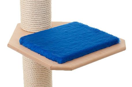 Holzfarbe: Natur - Auflage: Royalblau