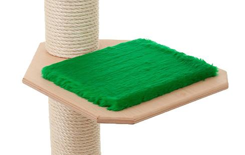 Holzfarbe: Natur - Auflage: Tannengrün
