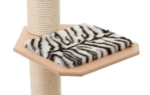 Holzfarbe: Natur - Auflage: Tiger-Weiss
