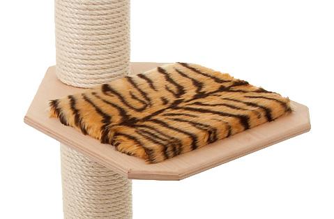 Holzfarbe: Natur - Auflage: Tiger