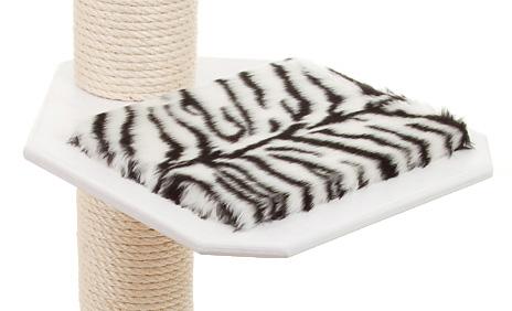 Holzfarbe: Weiss - Auflage: Tiger weiss